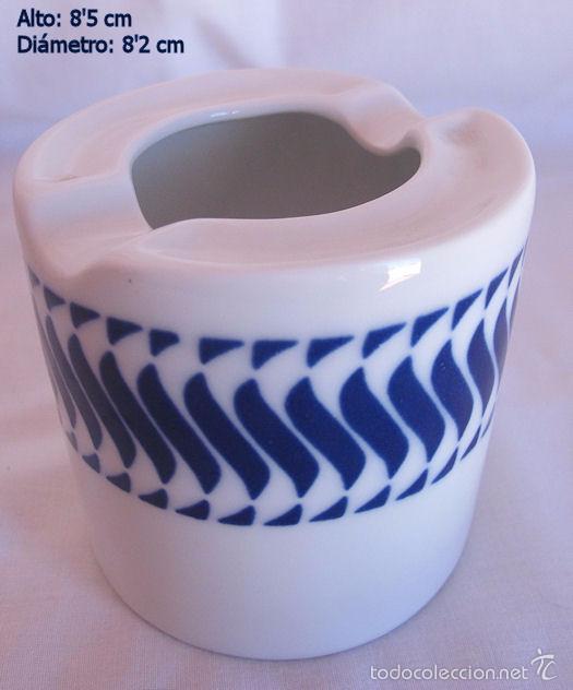 CENICERO PORCELANA SARGADELOS (Antigüedades - Porcelanas y Cerámicas - Sargadelos)