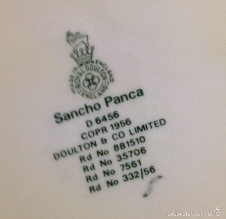 Antigüedades: SANCHO PANZA Y DON QUIJOTE - Foto 2 - 56344086