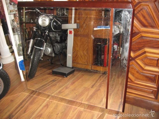 Espejo de madera grande dos cristales medida 12 comprar - Espejos grandes segunda mano ...