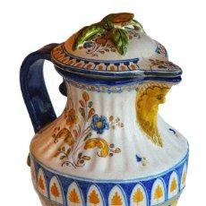 Antigüedades: TALAVERA. JARRA DE LA BELLOTA. RUIZ DE LUNA. ALTURA 29 CM.. Lote 56394557