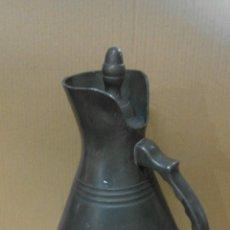 Antigüedades: JARRA DE ESTAÑO XIX . Lote 56395335