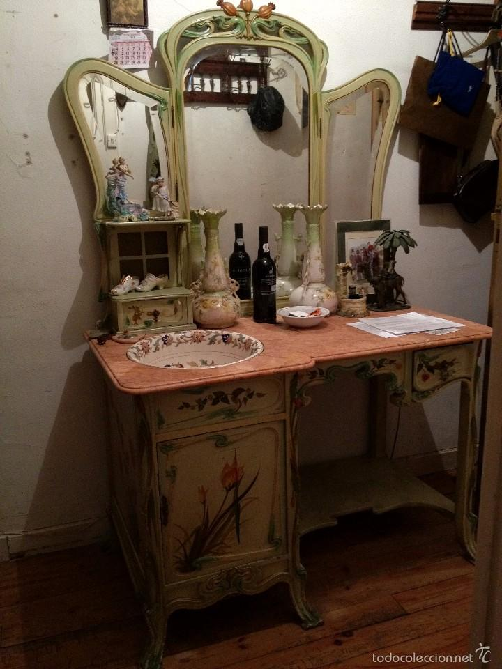 C moda lavabo modernista comprar muebles auxiliares for Muebles modernistas