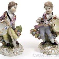 Antigüedades - Figuras-Porcelana-MEISSEN - 56398983