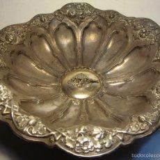 Antigüedades: PRECIOSO CENTRO DE MESA ANTIGUO. PLATA .900. Lote 56463144