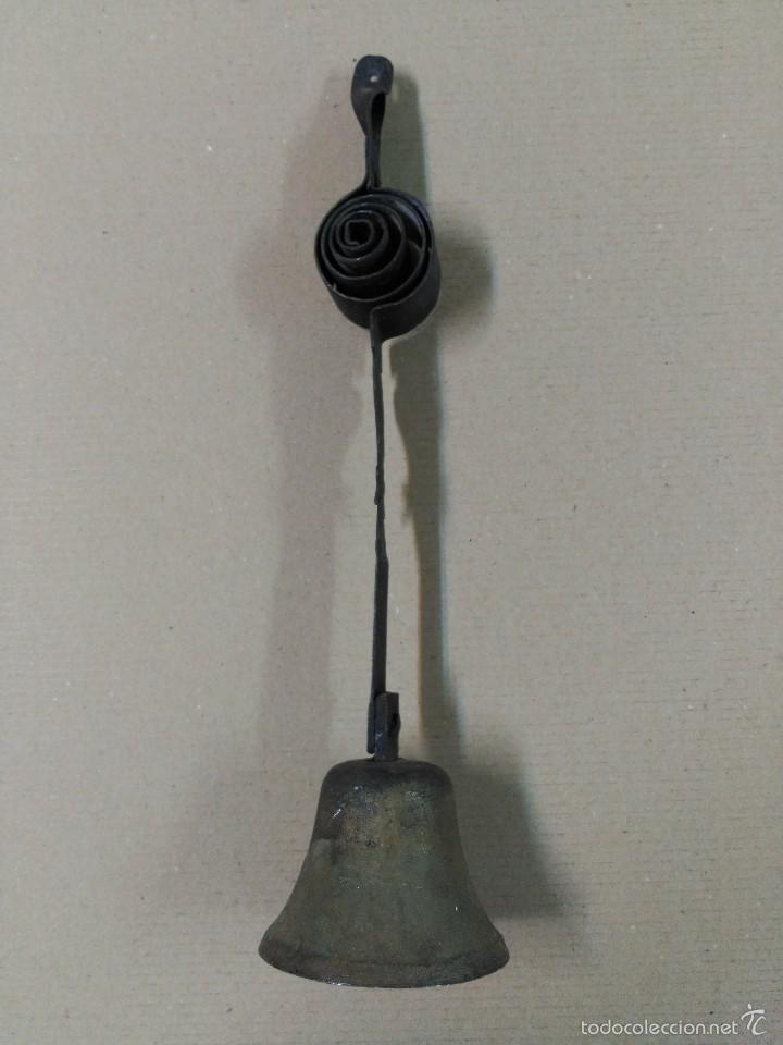 Antigüedades: Campana de hierro - Foto 2 - 56463280