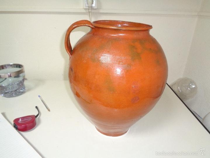 JARRA CERAMICA CATALANA (Antigüedades - Porcelanas y Cerámicas - Catalana)