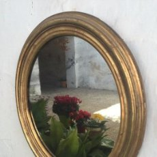 Antigüedades: ESPEJO DORADO FRANCES SIGLO XIX. Lote 56483675