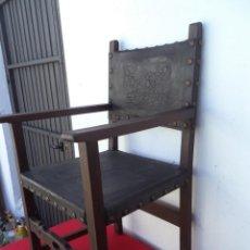 Antigüedades: SILLON ESTILO ESPAÑOL. Lote 56487816