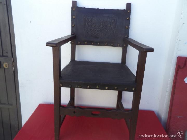 Antigüedades: sillon estilo español - Foto 2 - 56487816