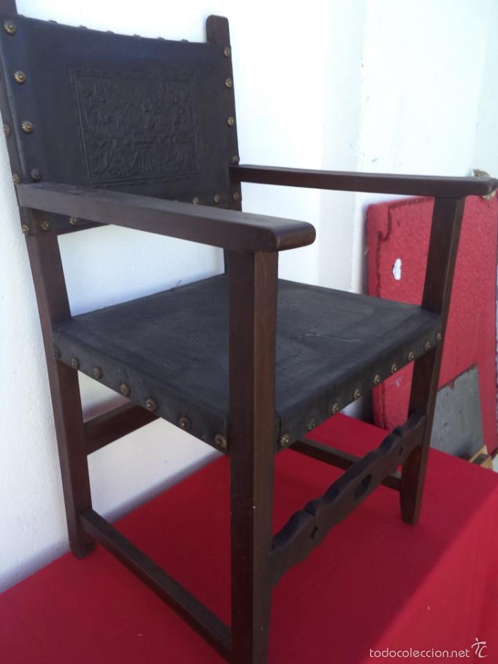 Antigüedades: sillon estilo español - Foto 3 - 56487816