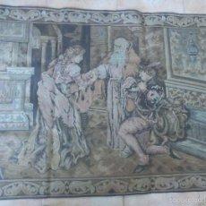 Antigüedades: ANTIGUO TAPIZ .- MEDIDAS 118 X 80 CM. Lote 56489686