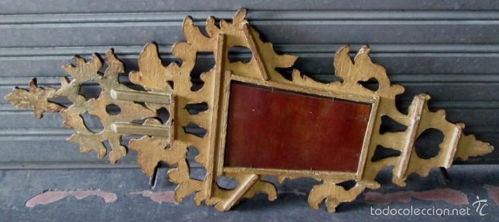 Antigüedades: CORNUCOPIA – ESPEJO pan de oro - Foto 2 - 56510611