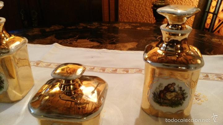 Antigüedades: JUEGO DE TOCADOR DE PORCELANA VINTAGE - Foto 3 - 56516932