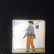 Antigüedades: AZULEJO CATALAN DE ARTES I OFICIOS. Lote 56518854