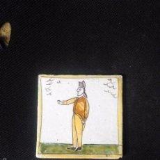 Antigüedades: AZULEJO CATALAN DE ARTES I OFICIOS. Lote 56553047