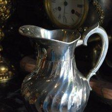 Antigüedades: PRECIOSA JARRA DE ALPACA. Lote 56564559
