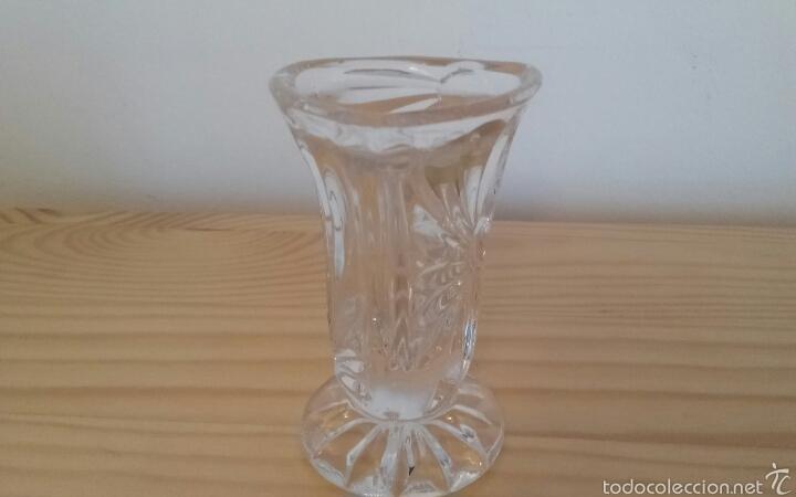 Antigüedades: Pequeño jarrón Bohemia - Foto 3 - 56574626