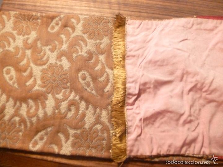 Antigüedades: tapete de terciopelo - Foto 2 - 56588896