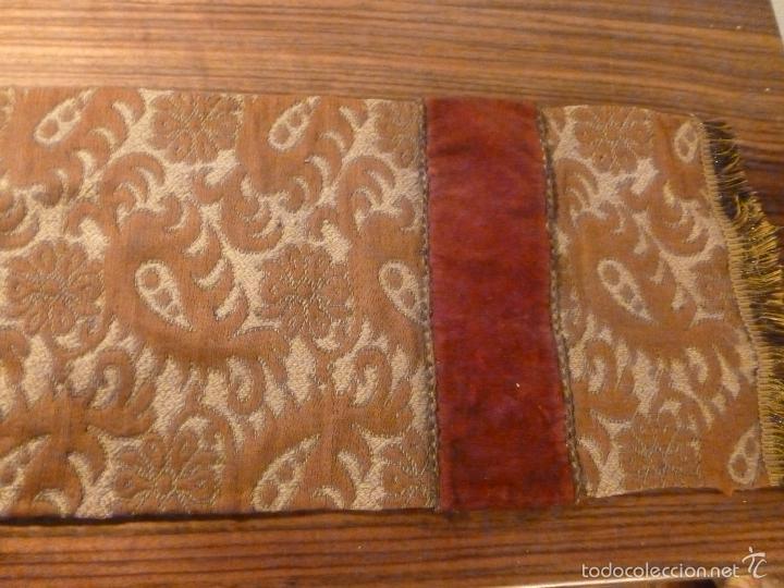 Antigüedades: tapete de terciopelo - Foto 6 - 56588896