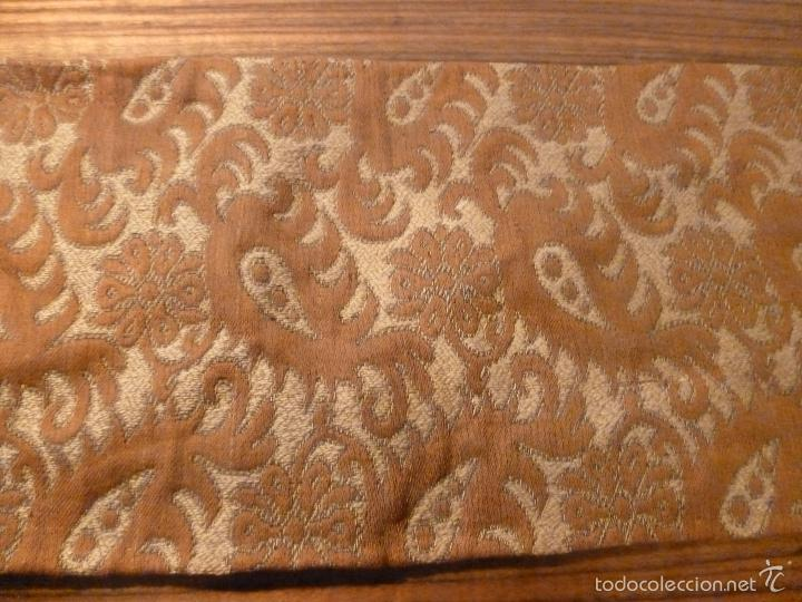 Antigüedades: tapete de terciopelo - Foto 7 - 56588896