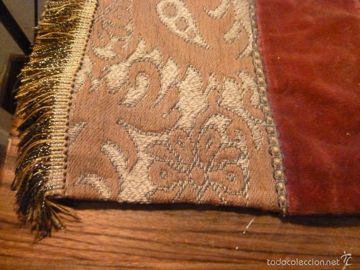 Antigüedades: tapete de terciopelo - Foto 9 - 56588896