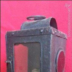Antigüedades: ANTIGUO FAROL DE CARRO. Lote 56593432