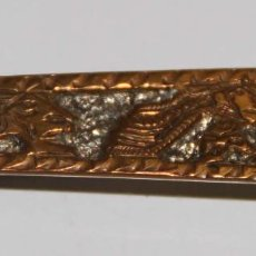 Antigüedades: JOY829 CLIP PARA BILLETES. FIRMADO REX. PLATA. MÉXICO. AÑOS 50. Lote 56610553