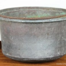 Antigüedades: OLLA DE COCINA. COBRE. MANGO EN HIERRO. SIGLO XVIII-XIX. . Lote 56610741