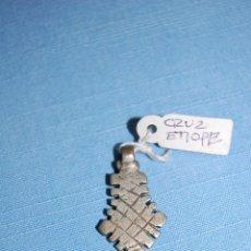 Antigüedades: CRUZ COLGANTE ETÍOPE EN METAL. Lote 56616533