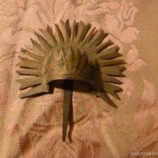 Antigüedades: CORONA DE METAL. Lote 56617611