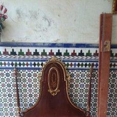 Antigüedades: CABECERO DE CAMA ANTIGUA. Lote 56627041
