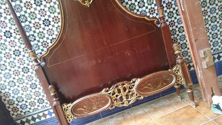 Antigüedades: cabecero de cama antigua - Foto 6 - 56627041