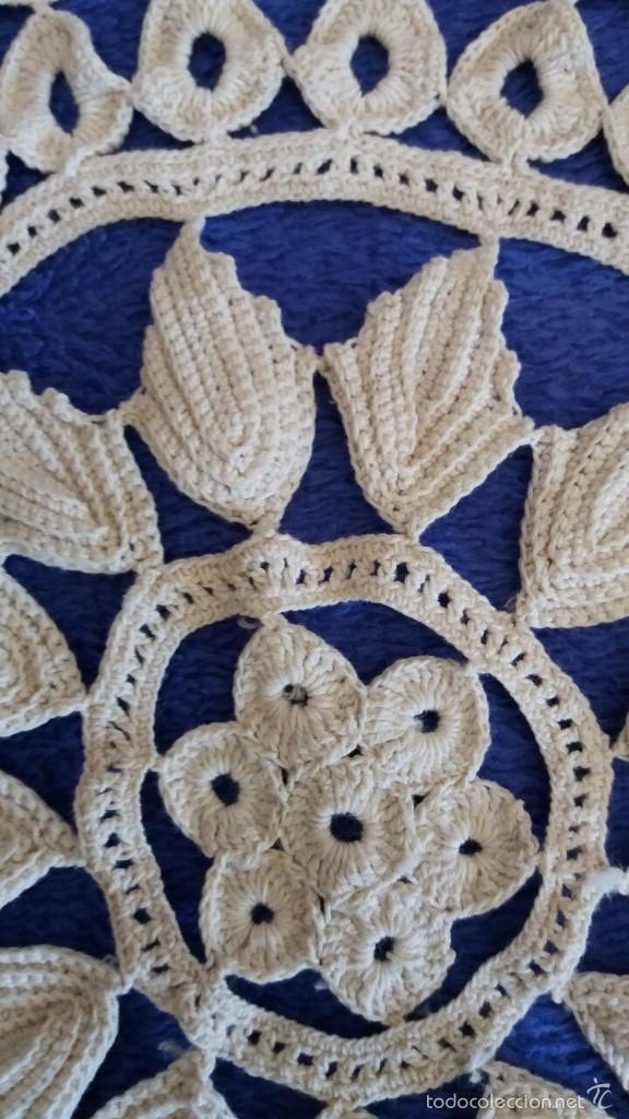 Antigüedades: TAPETE REDONDO - Foto 2 - 56627280