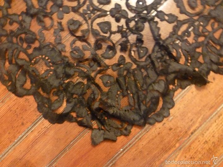 Antigüedades: mantilla negra - Foto 2 - 56627285