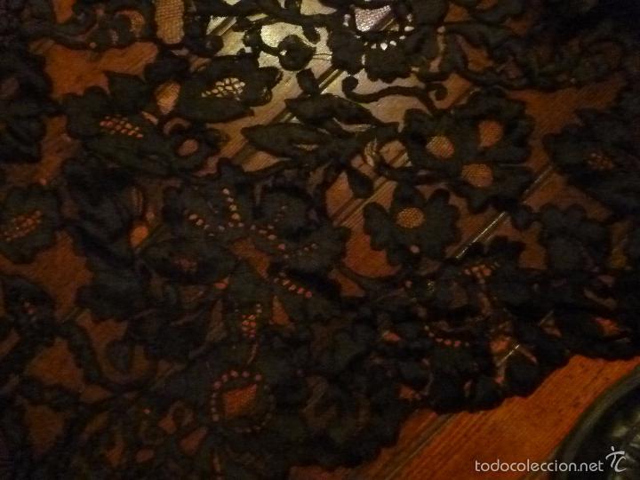 Antigüedades: mantilla negra - Foto 4 - 56627285