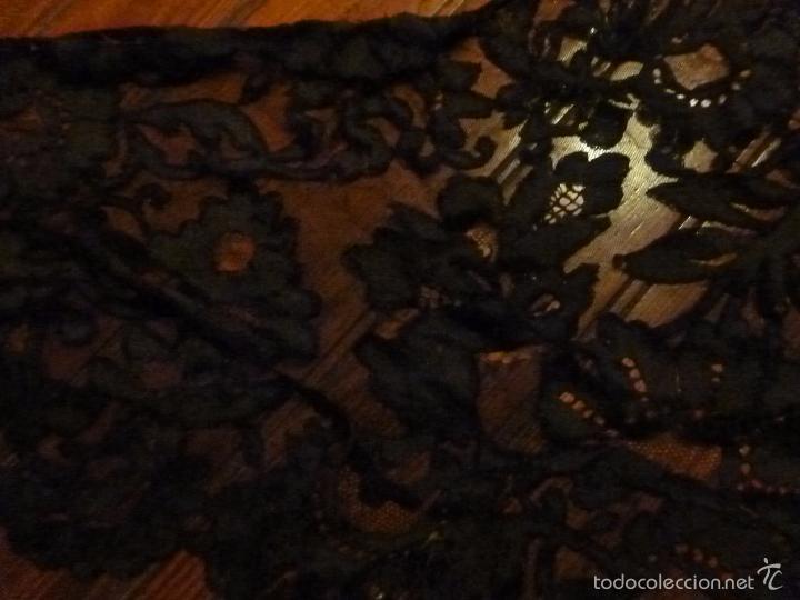 Antigüedades: mantilla negra - Foto 7 - 56627285