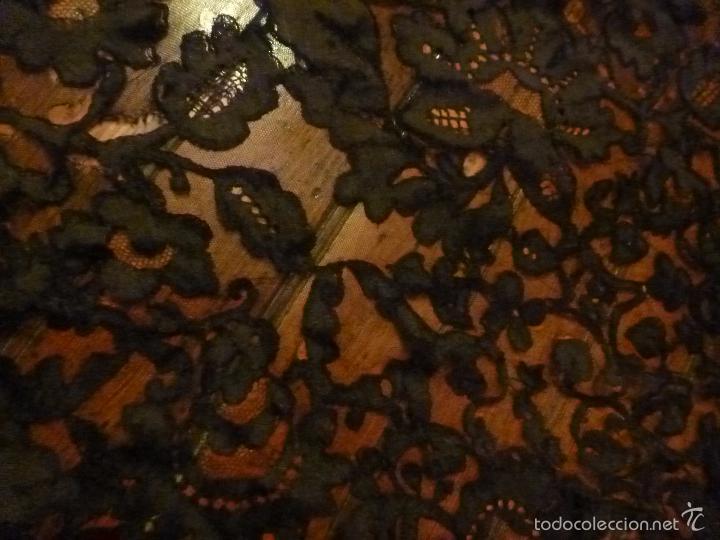 Antigüedades: mantilla negra - Foto 8 - 56627285