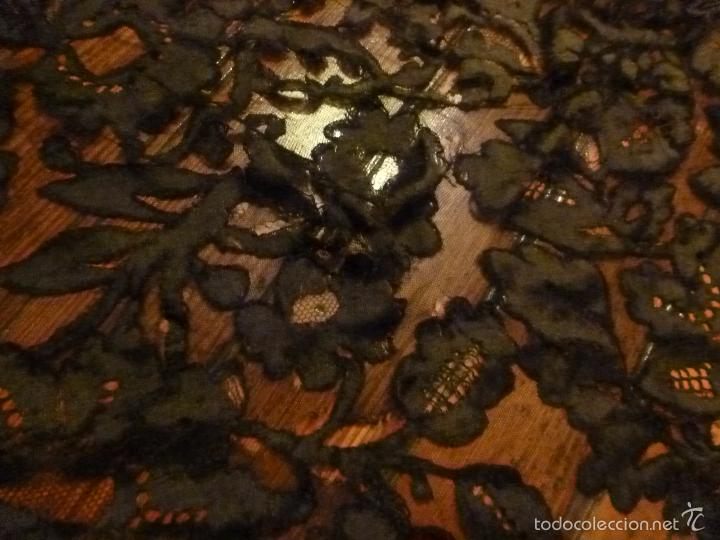 Antigüedades: mantilla negra - Foto 9 - 56627285