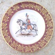 Antigüedades: PLATO DECORATIVO CABALLERO ROYAL FALCON. Lote 56629870