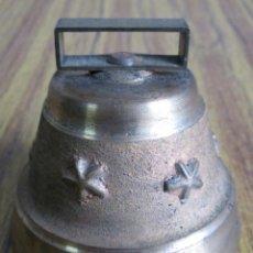 Antigüedades: CAMPANA DE LATÓN. Lote 56643106