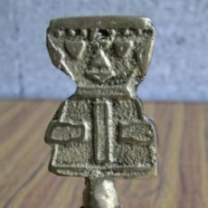 Antigüedades: CAMPANA DE LATÓN. Lote 56643115
