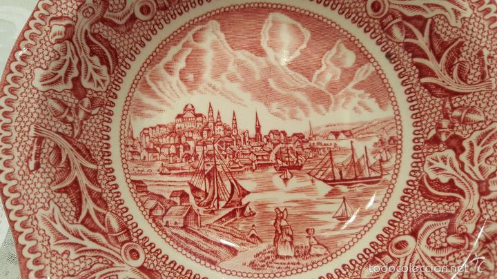 Antigüedades: MAGNIFICA FUIENTE DE PORCELANA DE 4 BOQUILLAS DE JHONSON BROS - MEDIDAS 13.5 CTMS DIAMETROX 3 ALTO- - Foto 2 - 56652650