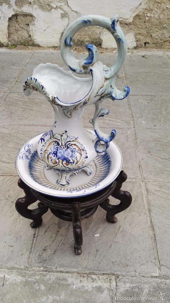 AGUAMANIL CAPODIMONTI (Antigüedades - Porcelanas y Cerámicas - Otras)