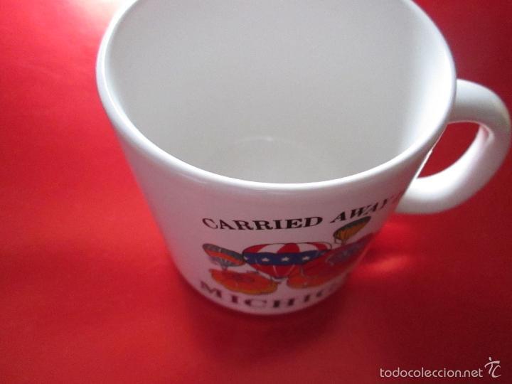 Antigüedades: TAZÓN-COFFE MUG-MICHIGAN-9x8,5 CMS-BUEN ESTADO-VER FOTOS. - Foto 10 - 56667054
