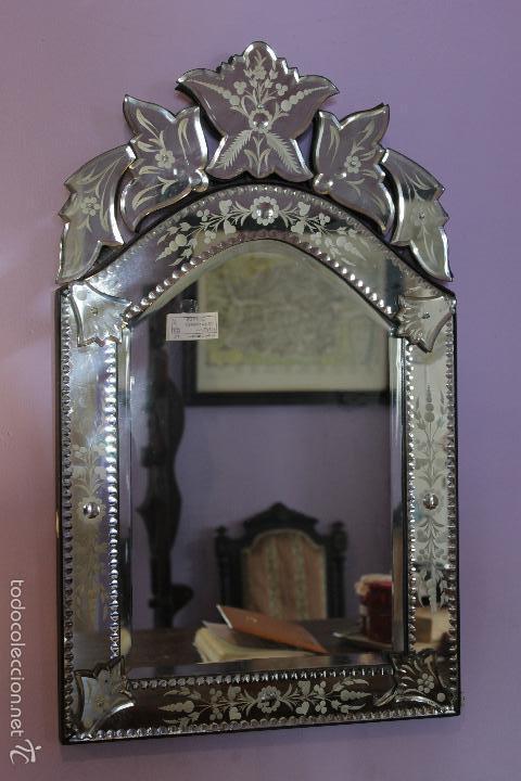 Antiguo espejo veneciano comprar espejos antiguos en - Espejos antiguos de pared ...