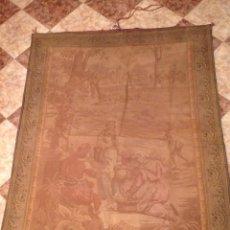 Antigüedades: TAPIZ GASTADO 209*160. Lote 56690076