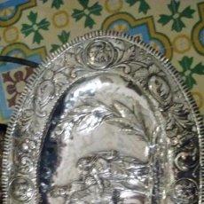 Antigüedades: BANDEJA DE PLATA DE LEY. Lote 56737029