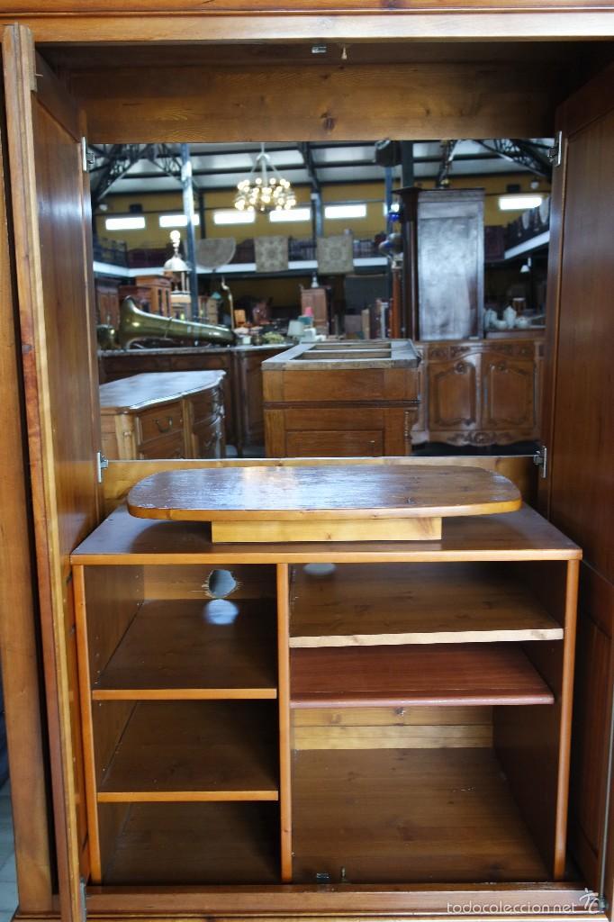Antigüedades: MUEBLE TV, LUIS FELIPE estilo . REF. 5896 - Foto 14 - 56741452