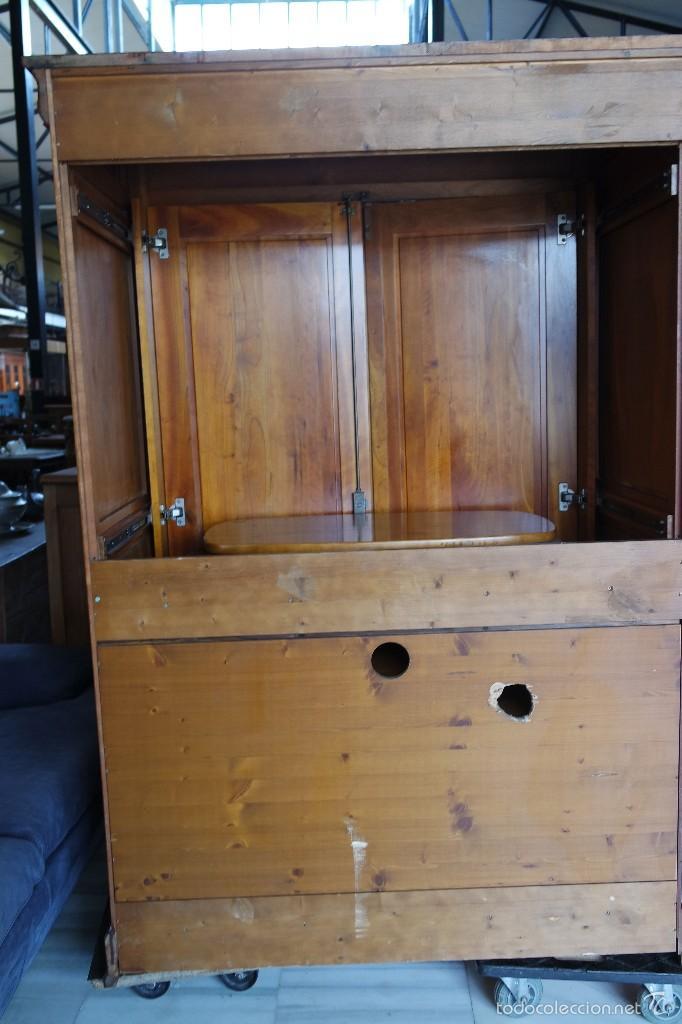 Antigüedades: MUEBLE TV, LUIS FELIPE estilo . REF. 5896 - Foto 17 - 56741452