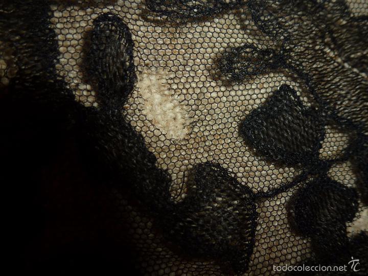 Antigüedades: mantilla negra - Foto 3 - 56752922